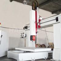 cnc数控五轴联动加工中心雕刻机床五轴德马吉图片