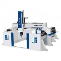 cnc数控五轴联动加工中心雕刻机床铝型材五轴数控加工中心