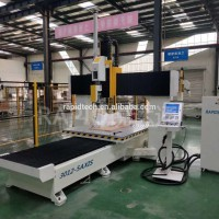 cnc数控五轴联动加工中心雕刻机床铝型材五轴加工中心价格