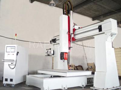 CNC数控木工模具五轴联动雕刻机机床中国有没有五轴加工中心