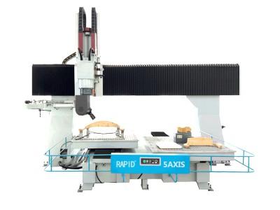 CNC数控木工模具五轴联动雕刻机机床中国现在有五轴加工中心吗