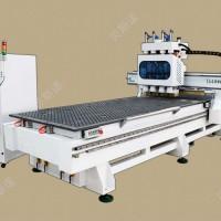 三四工序数控雕刻机 板式家具开料机 全自动开料 打孔 拉槽