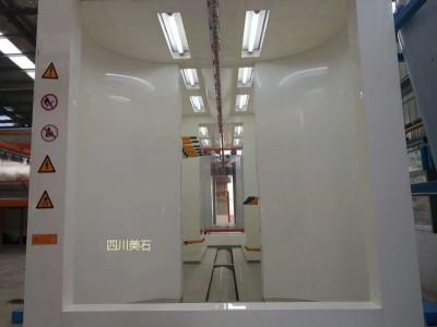 四川成都静电PP板喷塑喷粉房设备