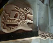 电脑雕刻机样品